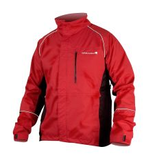 Endura Gridlock Mens Waterproof Jacket - Red