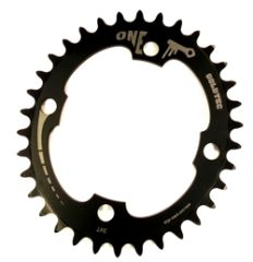 Goldtec Onekey Oval Chainring 104cbd