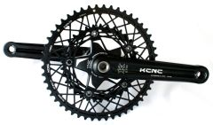 KCNC K2-type Road crank - with K3 Cobweb rings