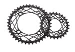 KCNC K3 MTB Chainrings - 104/64 bcd 4arm Double