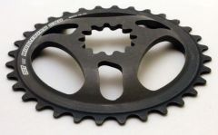 Middleburn Uno 32T Chainring Black
