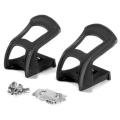Raleigh MTB Half Toe Clips - Strapless