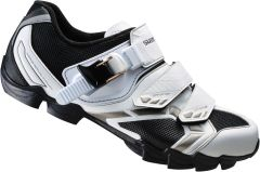 Shimano WM63 SPD women's shoes, white / black