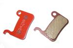 KCNC X7 Disc Brake Pads - Semi Metallic Alloy Backed - XT XTR